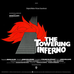The Towering Inferno Soundtrack (John Williams) - CD Trasero