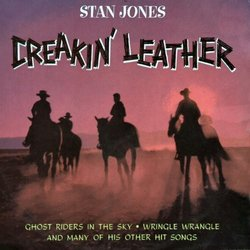 Creakin' Leather Soundtrack (Various Artists, Stan Jones) - CD cover