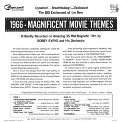 1966 Magnificent Movie Themes Soundtrack (Various Artists, Bobby Byrne) - CD Achterzijde