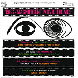 1966 Magnificent Movie Themes Soundtrack (Various Artists, Bobby Byrne) - CD cover