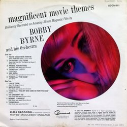 Magnificent Movie Themes Soundtrack (Various Artists, Bobby Byrne) - CD Achterzijde