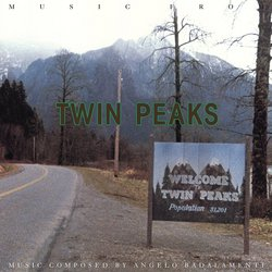 Music From Twin Peaks Soundtrack (Angelo Badalamenti) - CD cover