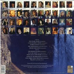 Music From Twin Peaks Soundtrack (Angelo Badalamenti) - CD Achterzijde