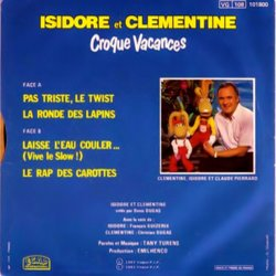 Croque Vacances Soundtrack (Various Artists, Isidore Et Clémentine) - CD Achterzijde