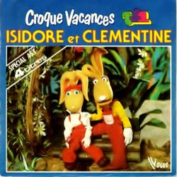 Croque Vacances Soundtrack (Various Artists, Isidore Et Clémentine) - CD cover