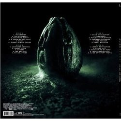 Alien: Covenant Soundtrack (Jed Kurzel) - CD Trasero