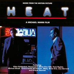 Heat Soundtrack (Various Artists, Elliot Goldenthal) - CD cover