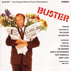 Buster Soundtrack (Various Artists, Anne Dudley) - CD-Cover