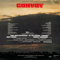 Convoy Soundtrack (Various Artists) - CD Trasero