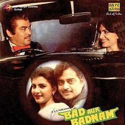 Bad Aur Badnam Soundtrack (Various Artists, Anand Bakshi, Laxmikant Pyarelal) - CD-Cover