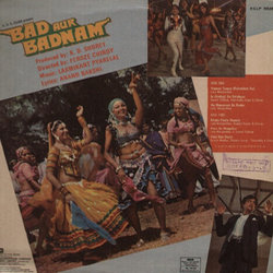 Bad Aur Badnam Soundtrack (Various Artists, Anand Bakshi, Laxmikant Pyarelal) - CD Achterzijde