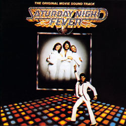 Saturday Night Fever Soundtrack (Various Artists, David Shire) - CD cover