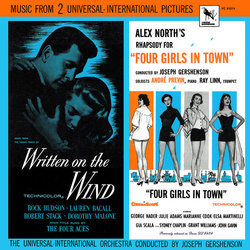 Written in the Wind / Four Girls in Town Soundtrack (Alex North, Victor Young) - Carátula