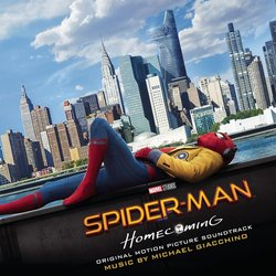Spider-Man: Homecoming Colonna sonora (Michael Giacchino) - Copertina del CD