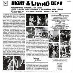 Night of the Living Dead Soundtrack (Various Artists) - CD Trasero