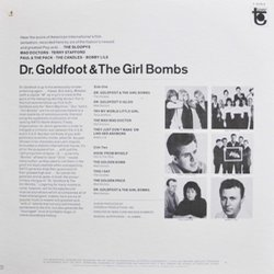 Dr. Goldfoot & The Girl Bombs Soundtrack (Various Artists, Les Baxter) - CD Trasero
