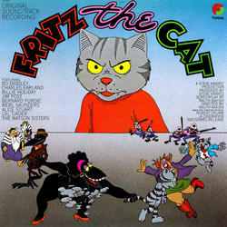 Fritz the Cat Soundtrack (Various Artists, Ed Bogas, Ray Shanklin) - Car�tula