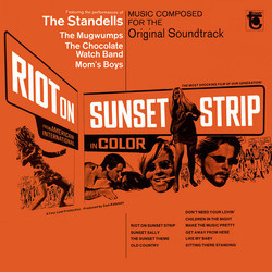 Riot on Sunset Strip Soundtrack (Various Artists) - Car�tula