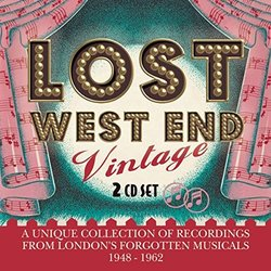 Lost West End Vintage Soundtrack (Various Artists) - CD cover