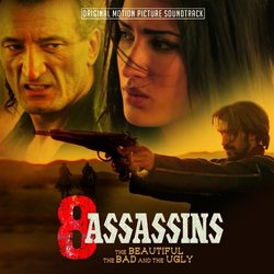 8 Assassins Soundtrack (Various Artists) - CD cover