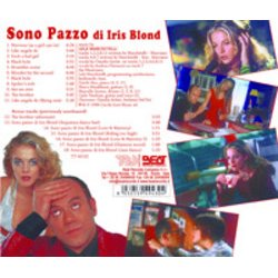Sono Pazzo Di Iris Blond Soundtrack (Lele Marchitelli) - CD Achterzijde