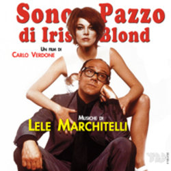 Sono Pazzo Di Iris Blond Soundtrack (Lele Marchitelli) - CD cover