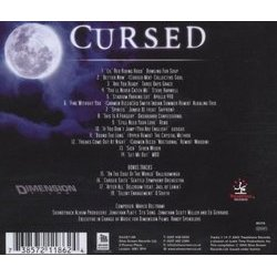 Cursed Soundtrack (Marco Beltrami) - CD Trasero