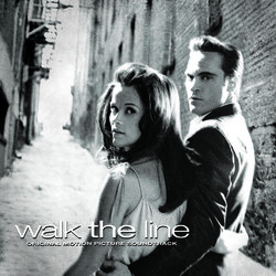 Walk the Line Soundtrack (Various Artists, T Bone Burnett) - CD cover