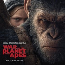 War for the Planet of the Apes Soundtrack (Michael Giacchino) - CD cover