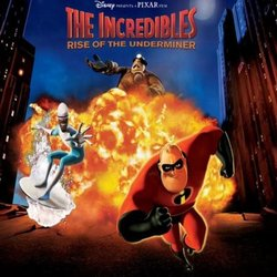 The Incredibles: Rise of the Underminer 声带 (Michael Giacchino, Chris Tilton) - CD封面