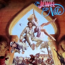 The Jewel of the Nile Soundtrack (Various Artists, Jack Nitzsche) - Car�tula