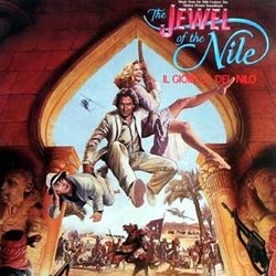 The Jewel of the Nile Soundtrack (Various Artists, Jack Nitzsche) - CD cover