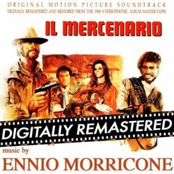 Il Mercenario Soundtrack (Ennio Morricone) - CD cover