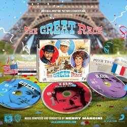 The Great Race Soundtrack (Henry Mancini) - CD cover