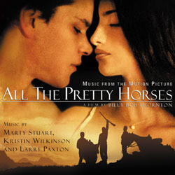 All the Pretty Horses Soundtrack (Marty Stuart) - CD-Cover