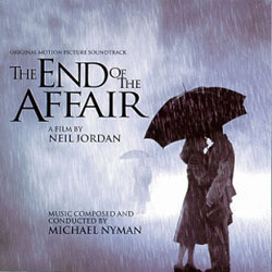 The End of the Affair Soundtrack  (Michael Nyman) - CD cover