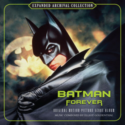 Batman Forever Soundtrack (Elliot Goldenthal) - CD-Cover