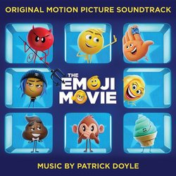 The Emoji Movie Trilha sonora (Patrick Doyle) - capa de CD