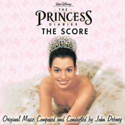 The Princess Diaries Soundtrack (John Debney) - CD cover