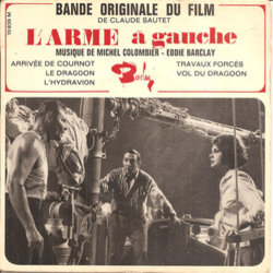 L'Arme à Gauche Soundtrack (Eddie Barclay, Michel Colombier) - CD cover