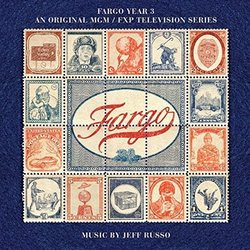 Fargo: Year 3 Soundtrack (Jeff Russo) - CD cover