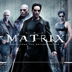 The Matrix Soundtrack (Various Artists) - CD cover