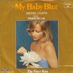 My Baby Blue Soundtrack (Francis Lai) - CD cover