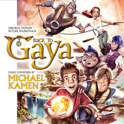 Back to Gaya Soundtrack (Michael Kamen) - Carátula
