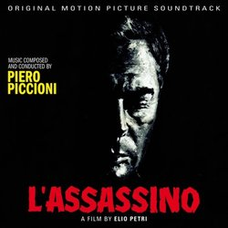L'Assassino Soundtrack (Piero Piccioni) - CD cover