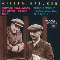 The Samuel Falkland Show / The Resistable Rise Of Arturo Ui Soundtrack (Bertolt Brecht, Willem Breuker) - CD-Cover