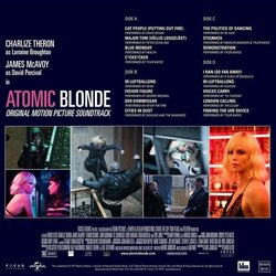 Atomic Blonde Bande Originale (Various Artists, Tyler Bates) - CD Arrière