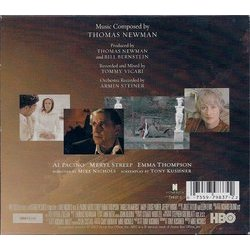 Angels in America Soundtrack (Thomas Newman) - cd-car�tula