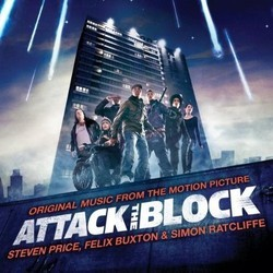 Attack the Block 聲帶 (Steven Price) - CD封面