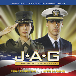 JAG Soundtrack (Bruce Broughton) - Car�tula